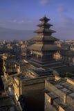 Templo Bhaktapur, Nepal de Vatsala Foto de archivo