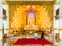 Templo birmano, Singapur Fotos de archivo