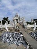 Templo blanco Imagenes de archivo