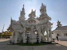 Templo blanco Chiang Rai Tailandia Imágenes de archivo libres de regalías