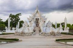 Templo blanco de Tailandia Foto de archivo