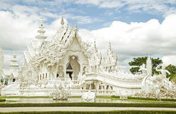 Templo blanco de Tailandia imagen de archivo libre de regalías