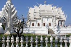 Templo blanco en Chiang Rai Fotografía de archivo libre de regalías