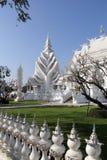 Templo blanco en Chiang Rai Imagen de archivo