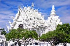 Templo blanco, recuperación Imagen de archivo