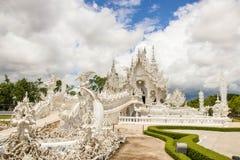 Templo blanco Tailandia Imagen de archivo libre de regalías