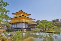 Templo bonito de Kinkaku-ji Fotografia de Stock