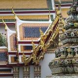 Templo bonito de Wat Pho em Banguecoque Tailândia Fotos de Stock
