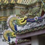 Templo bonito de Wat Pho em Banguecoque Tailândia Fotos de Stock Royalty Free