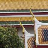 Templo bonito de Wat Pho em Banguecoque Tailândia Imagem de Stock Royalty Free