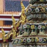 Templo bonito de Wat Pho em Banguecoque Tailândia Fotografia de Stock Royalty Free