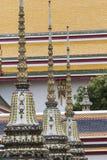Templo bonito de Wat Pho em Banguecoque Tailândia Imagem de Stock
