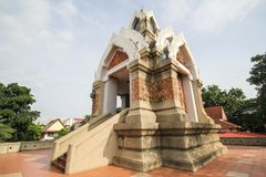 Templo bonito em Korat, Tailândia Fotos de Stock Royalty Free
