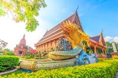 Templo bonito em Tailândia imagem de stock royalty free