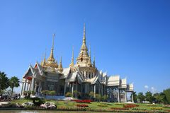 Templo bonito em Tailândia Imagens de Stock Royalty Free