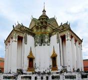 Templo bonito em Wat Pho Complex Temple do botão de reclinação Fotografia de Stock