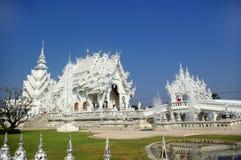 Templo branco Fotografia de Stock