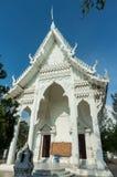 Templo branco Fotografia de Stock Royalty Free
