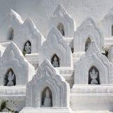 Templo branco Fotos de Stock Royalty Free