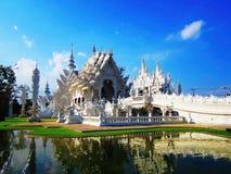 Templo branco Imagem de Stock