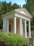 Templo branco Fotos de Stock