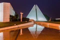 Templo Brasília de Vontade da boa de Legiao a Dinamarca imagem de stock