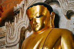 Templo Buda de Htilominlo en Bagan Foto de archivo libre de regalías