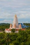 Templo budista fotografia de stock