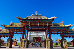 Templo budista Fotos de archivo libres de regalías