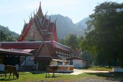 Templo budista agradable en el parque nacional del ROI Yot de Khao Sam Fotografía de archivo