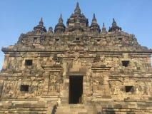 Templo budista Arquitetura antiga historic indonésia fotografia de stock royalty free