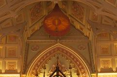 Templo budista a arquitetura da igreja (Wat Niwet Thamma Imagens de Stock