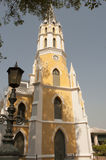 Templo budista a arquitetura da igreja (Wat Niwet Thamma Imagem de Stock Royalty Free