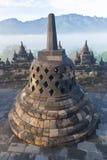 Templo budista Borobudur Foto de Stock Royalty Free