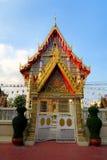 Templo budista brillante y colorido Fotografía de archivo libre de regalías