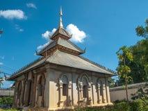 Templo budista, Chiang Mai, Tailândia Imagem de Stock Royalty Free