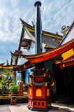 Templo budista chinês em Malang, Indonésia Imagem de Stock