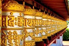Templo budista Dag Shang KagyuDag fotografia de stock royalty free