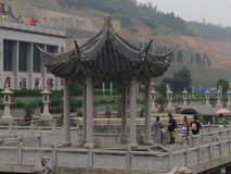 Templo budista de Chinise Foto de archivo