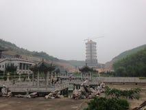 Templo budista de Chinise Fotos de archivo