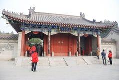 Templo budista de Dacien em Xian Imagem de Stock Royalty Free