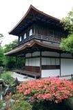 Templo budista de Ginkakuji Imagenes de archivo