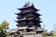 Templo budista de Guiyuan Foto de archivo libre de regalías