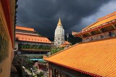 Templo budista de Kek Lok Si foto de archivo libre de regalías