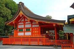 Templo budista de Kiyomizu-Dera em Kyoto, Japão Imagens de Stock Royalty Free