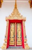 Templo budista de la puerta de oro Imágenes de archivo libres de regalías