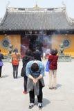 Templo budista de Longhua Fotografía de archivo