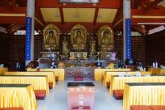 Templo budista de Nanputuo en Xiamen, China Foto de archivo libre de regalías