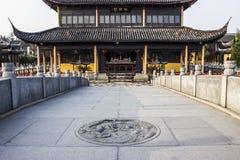 Templo budista de Quanfu en Zhouzhuang China Fotografía de archivo libre de regalías