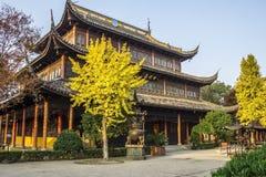 Templo budista de Quanfu en Zhouzhuang China Imagen de archivo libre de regalías